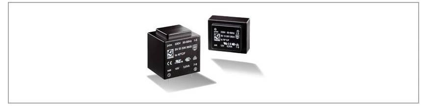 Transformatoare capsulate - PCB